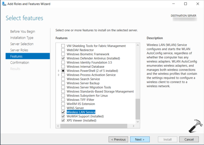 How To Enable WiFi In Windows Server 2019