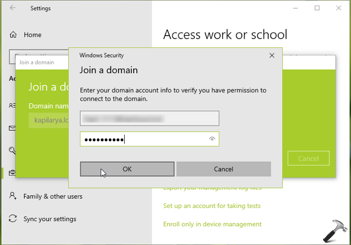 How To Join Windows 10 To A Domain