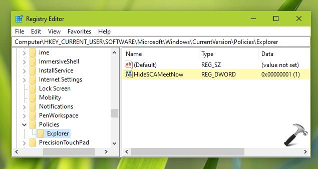 Cách Thêm/Xóa Biểu Tượng Meet Now Trên Thanh Taskbar Trong Windows 10 - VERA STAR