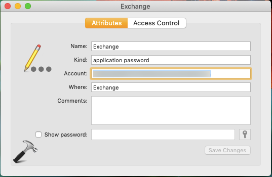 Keychain keeps asking for password