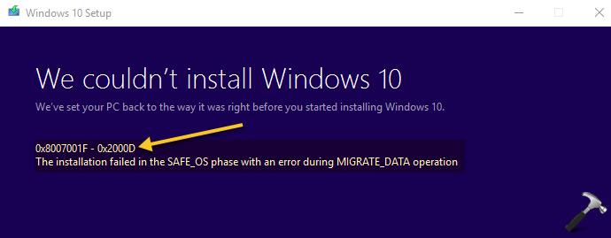Understanding Windows Upgrade Error Codes