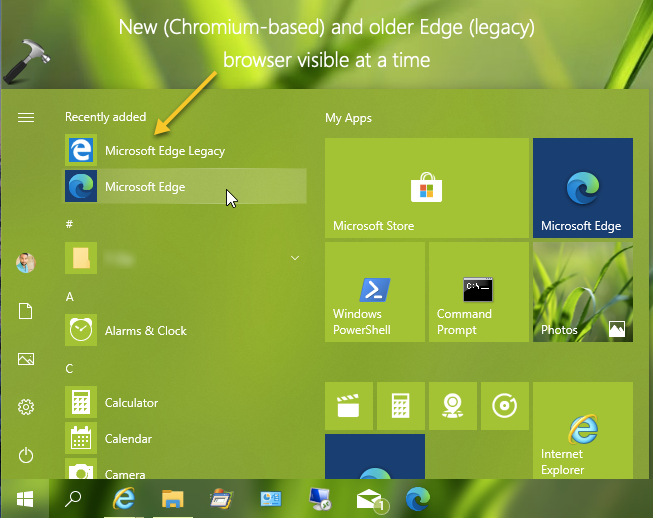 Use Old Microsoft Edge With New Edge Chromium Browser